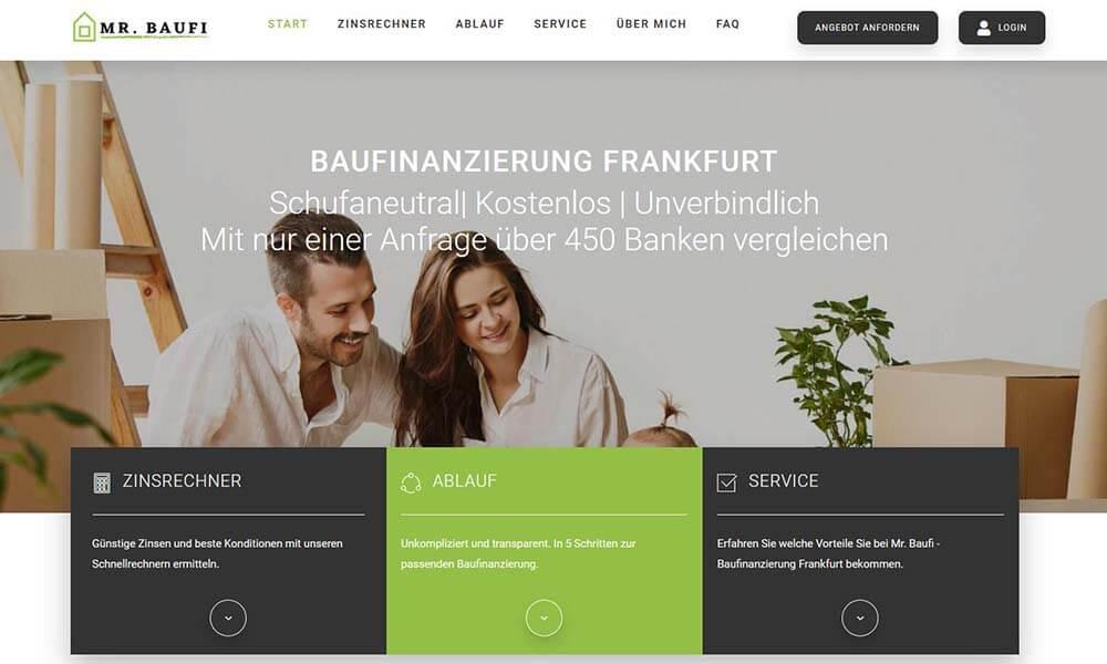 Baufinanzierung Frankfurt